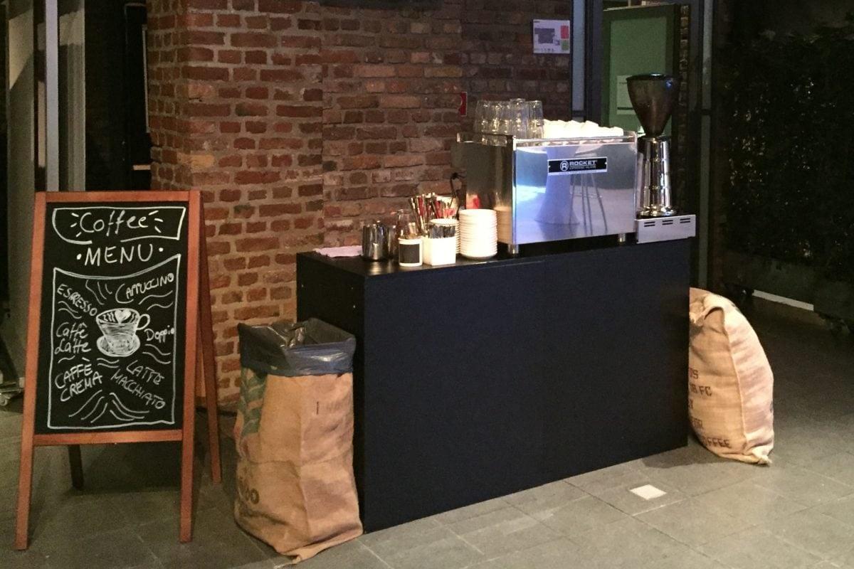 Mobile coffeebar